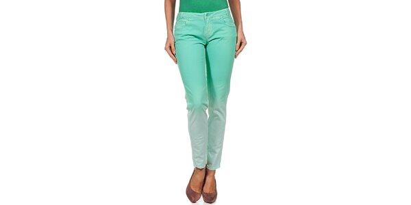 Dámské zelené duhové kalhoty Guess by Marciano