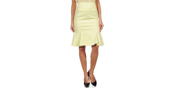 Dámská žlutá sukně do pasu Guess by Marciano