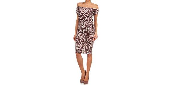 Dámské zebří šaty Guess by Marciano