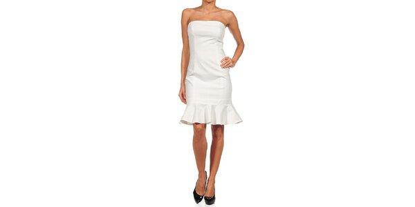 Dámské bílé šaty s kanýrkem Guess by Marciano
