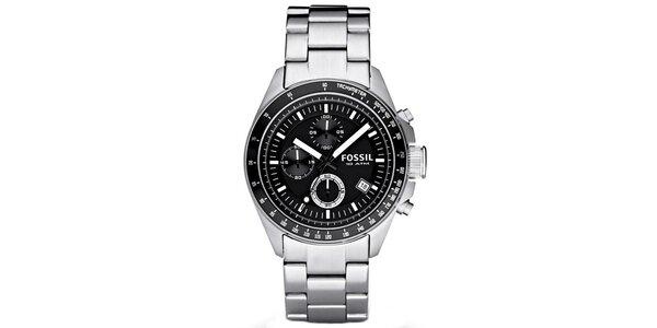 Pánské analogové hodinky z nerezové oceli Fossil 8c39baf67a