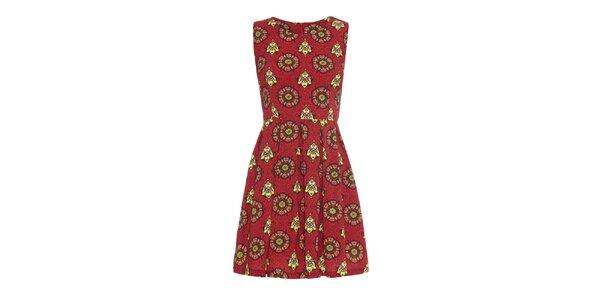 Dámské šaty s barevnými vzory Iska