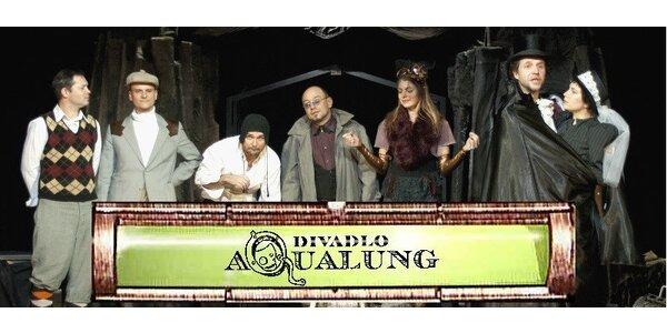 2 vstupenky na představení Dracula reloaded na divadelní lodi Tajemství