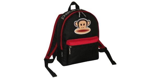 Černý batoh Paul Frank