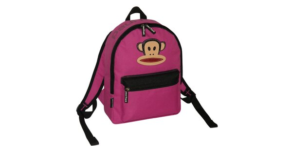 Růžový batoh Paul Frank