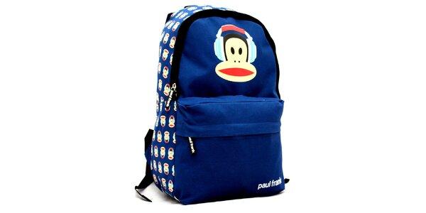 Modrý batoh Paul Frank