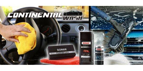 299 Kč za kompletní ruční mytí auta kosmetikou Sonax v hodnotě 825 Kč!
