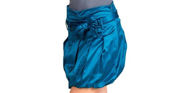 Dámská modrá balonová sukně Keysha