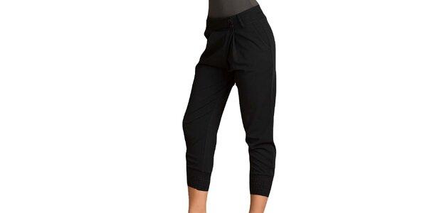 Dámské černé capri kalhoty Keysha