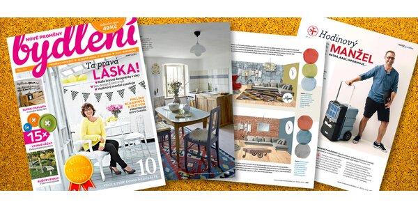 Předplatné nového časopisu Nové proměny bydlení