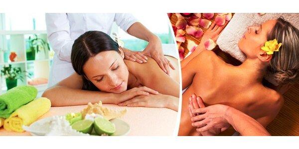 Tradiční havajská masáž Lomi Lomi