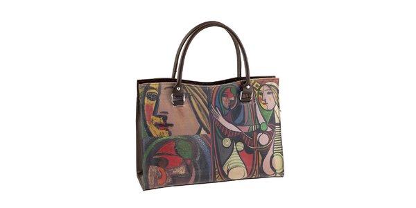 Dámská kabelka s obrazovým potiskem Valentina Italy