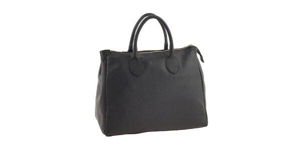 Dámská černá taška se zipem Valentina Italy