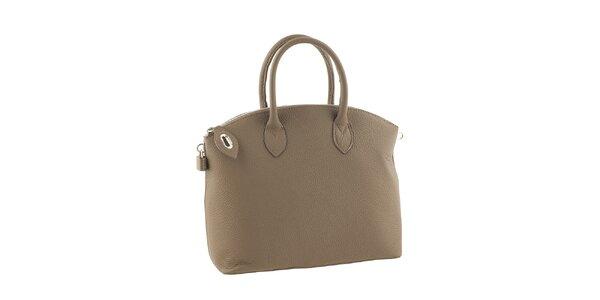 Dámská kabelka se zipem v pískovém odstínu Valentina Italy