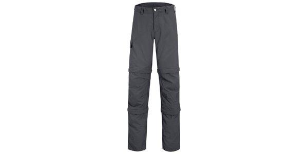 Pánské šedé kalhoty Maier s odepínatelnými zipy