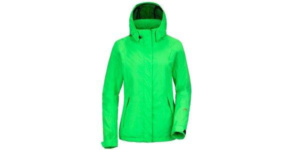 Dámská funkční bunda v zelené barvě Maier