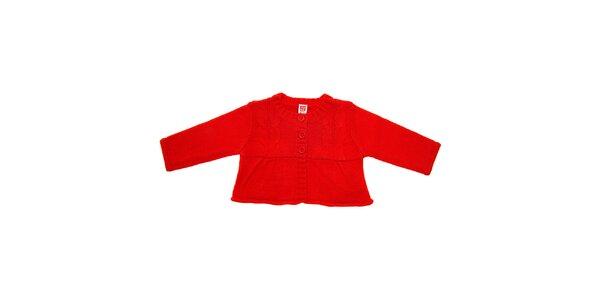 Dětský červený svetřík Tuc Tuc