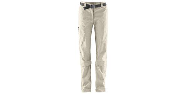 Dámské odepínatelné světle béžové kalhoty Maier