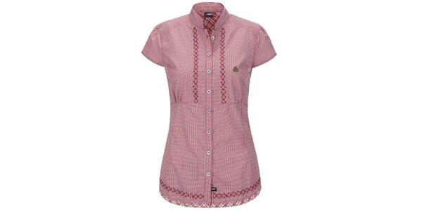 Dámská růžová prošívaná košile Maier