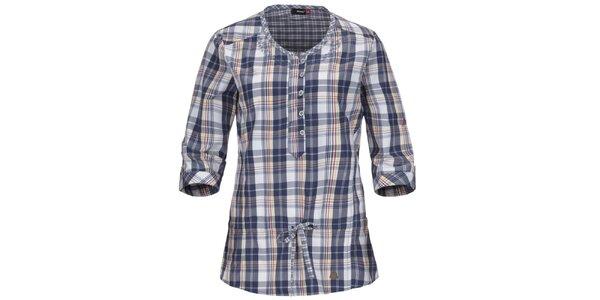 Dámská modrá košile s tříčtvrtečními rukávy Maier