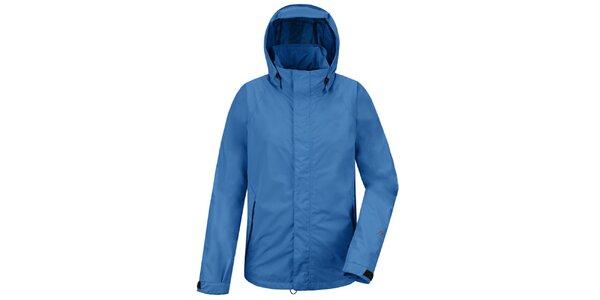 Pánská modrá funkční bunda s kapucí Maier