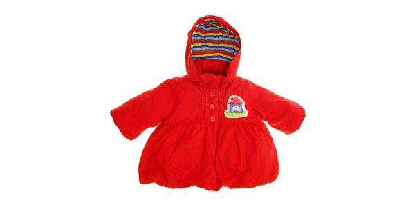 Dětský červený kabátek Tuc Tuc