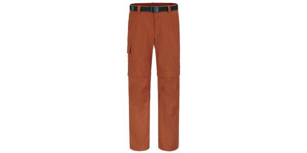 Pánské oranžové funkční kalhoty Maier