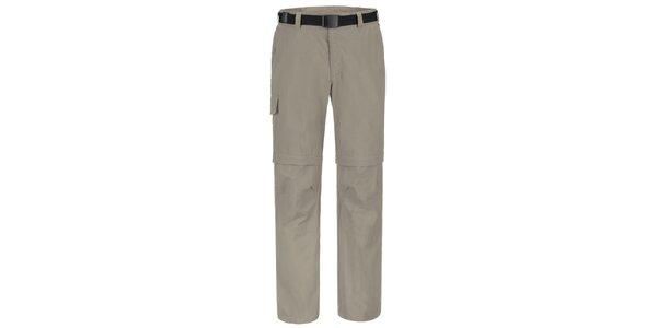 Pánské šedé funkční kalhoty Maier