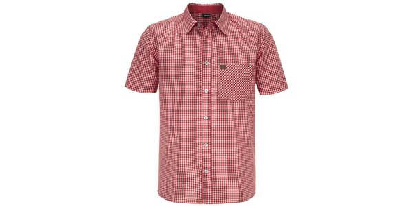 Pánská červená kostkovaná košile Maier