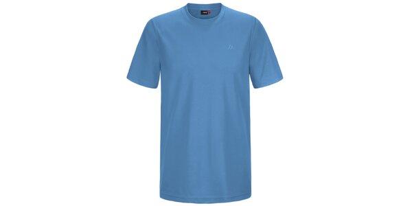 Pánské modré funkční tričko s krátkým rukávem Maier