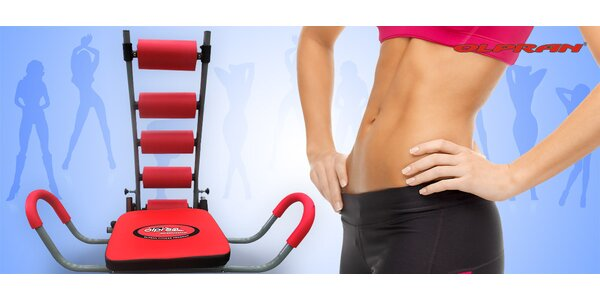 Účinné posilování břicha s Max Rocket Twister