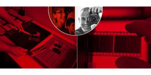 Fotografické kouzlení - 4hodinový kurz vyvolávání fotografií ve fotokomoře…