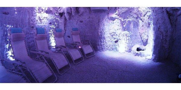 20 vstupů do solné jeskyně - balíček prevence vzniku různých onemocnění