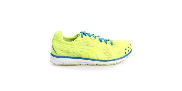 Pánské modro-žluté sportovní tenisky Puma