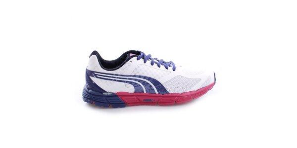 Dámské bílé sportovní tenisky s barevnými prvky Puma