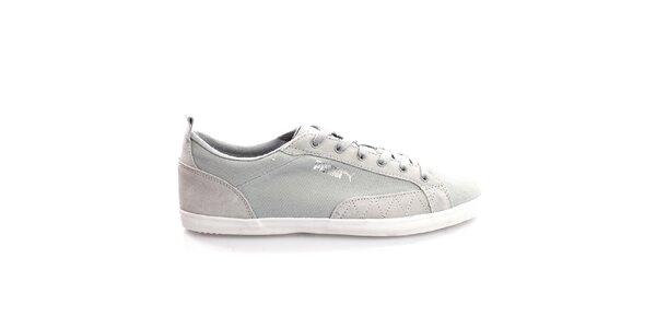 Pánské světle šedé šněrovací boty Puma