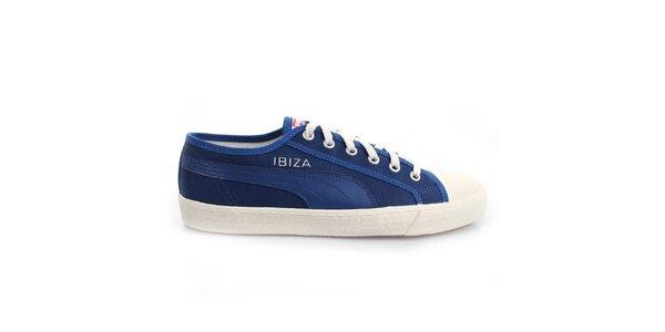 Modro-bílé tenisky Puma
