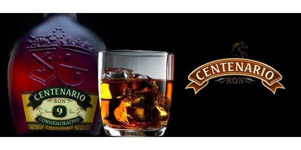 Lahev špičkového 9letého třtinového rumu Centenario