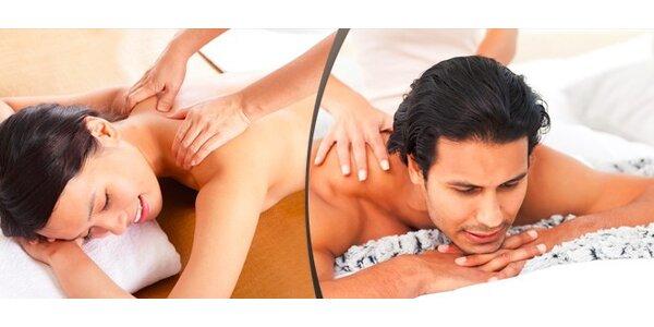 Klasická masáž celého těla v délce 60 minut