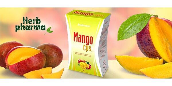 Mango kapsle – podpůrný přípravek při dietách