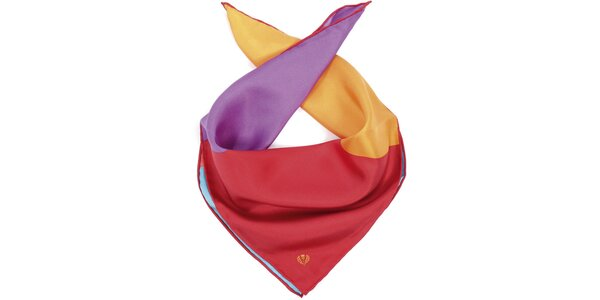 Dámský trojbarevný šátek Fraas