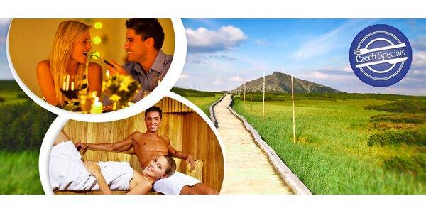 Relax s polopenzí v krkonošském Zeleném Mlýně
