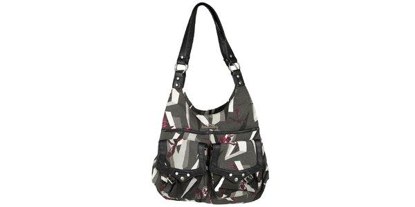 Authority Bag Nela módní kabelka přes rameno šedá