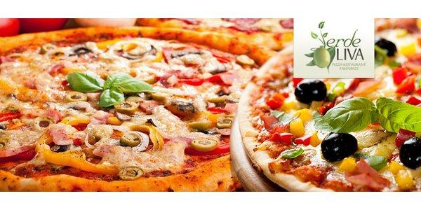 DVĚ vynikající pizzy v pizzerii Oliva!