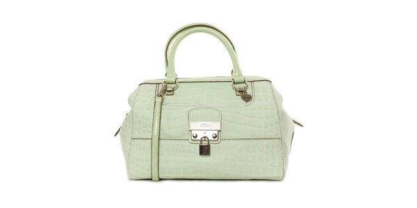 Dámská zelenkavá kabelka se zámečkem Guess