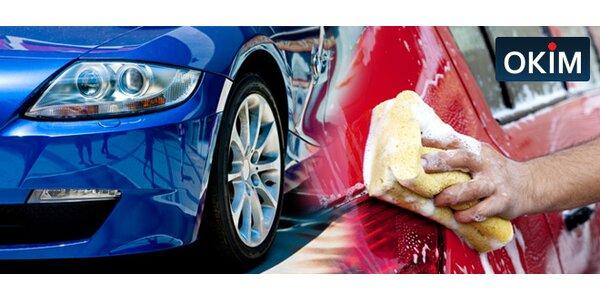 Umytí vašeho auta - na výběr 5 nabitých programů!