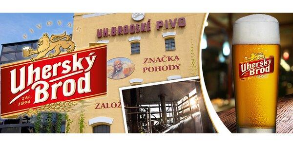 Exkurze v Pivovaru Uherský Brod + neomezeně piva