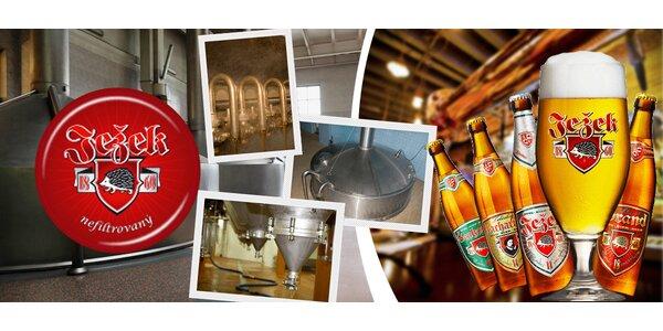 Pivní stezka, prohlídka pivovaru Jihlava i 3chodové menu