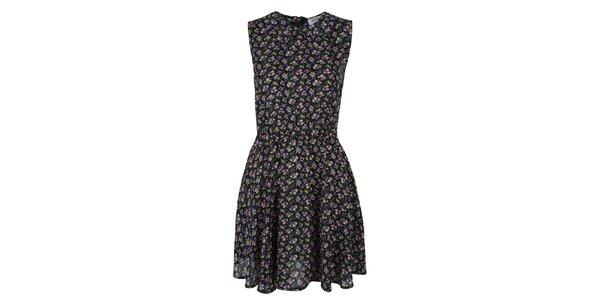 Dámské šaty s barevným květinovým vzorem Madam rage