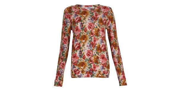 Dámské květované tričko Madam Rage